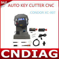 Wholesale 2014 Original IKEYCUTTER CONDOR XC AUTO KEY CUTTER CNC Master Series Key Cutting Machine By DHL