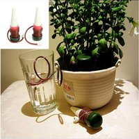 Wholesale 2Pcs Automatic Drip Plant Watering System Tender Waterer Spike Houseplant Indoor Irrigation Tool