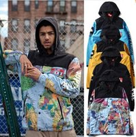 mens designer clothes - men s windbreaker jacket M reflective coat new autumn and winter mens designer Clothes hip hop Face softshell BAPE