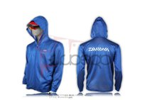 Wholesale Fishing Clothes DAIWA Backpack Quick Dry Sunscreen Sun Protection Clothing Blue White Gray Color Daiwa Fishing Clothes