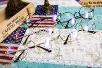Wholesale DHL Colors Harry Potter Round Frame New Vintage Mirror Plain Women Men Computer Glass Eyeglasses