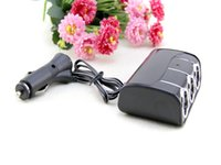 car cigarette lighter power adapter - 2015 New Car Cigarette Lighter Plug Charger Adapter Car Cigarette Lighter Socket Splitter Charger Power Adapter v ma