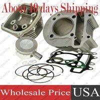 Wholesale sets a Big Bore Cylinder Kit with Cylinder Head Assy for GY6 cc mm QMJ ATV Buggy Moped Scooter