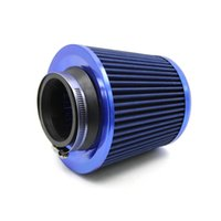 air intake filtration - Universal Car quot Air Filters Round Tapered Clamp On Stack Filtration Micro Cotton Gauze Cold Air Intake Filters order lt no track