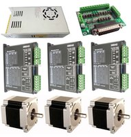 cnc stepper motor driver - CNC Axis Driver Breakout board N m Stepper Motor oz power supply kit