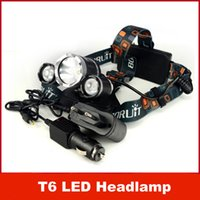 LED Headlamp outdoor torches - HOT Lumen XCREE XM L T6 LED Headlamp Headlight Head Torch Lamp XCharger for Outdoor Camping