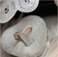 beak band - Hot Selling Stylish Gold Silver Plated Alloy Rhinestone Inlay Beak Rings Women Jewelry Engagement Party