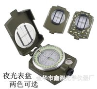 Wholesale American all metal high grade folding compass with luminous compass outdoor multifunction compass K4580