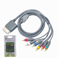audio and video components - New Composite Component HD High Definition Video and Audio AV Cable Cord Wire RCA For Microsoft Xbox Xbox360