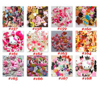 Wholesale Hotsale Can pick up from Fashion Mix Kawaii Flatback Resin Phone Cabochons Phone DIY decoration
