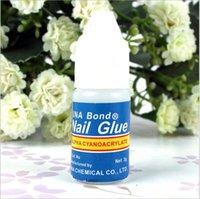 Gel Polish nail glue - 2015 Acrylic UNA Bond DIY Nail Glue Makeup Glue Nail Art Tips Nail Glue Adhesive Nail glue Fast Drying Acrylic Glue Nail Gel BBB3286