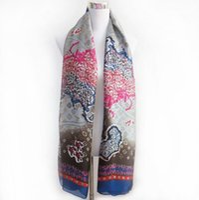 silk scarves - New fashion silk scarves women s big high end Map design silk scarf silk scarves shawl is prevented bask sunshade beach towels