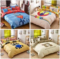 animal comforter set price - best price Factory Direct fields and gardens Bed Cover Quilt Bedclothes Housse de Couette Adulte Solid Beige Bedding Set Cotton Bed Linen