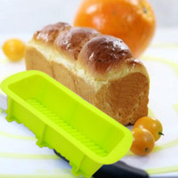 baking bread loaf - loaf bread mould safety silicone bakery baking mold oven freezer chocolate cany sandwich toast kithcen cooking tool MS013
