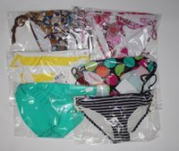 Wholesale Ms swimwear number of multicolor original single ladies nylon trunks loss to sell part with hanger