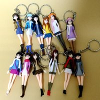 abs office products - Japanese white collar office workers Japanese girl keychain Japan and set toys gift