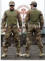 Wholesale Man Snake Camouflage Military Uniform Army SWAT Equipment Tactical Combat Airsoft Suit Pants Shirts Hunting Sets Pantingball