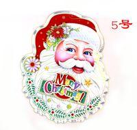 big carts - Santa Claus Christmas Sticker Sticker Sticker Sticker avatar pull carts Christmas tree