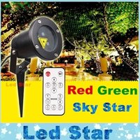10w laser - Outdoor IP65 waterproof Laser stage light elf light christmas lights outdoor laser lighting projector red green firefly light projector