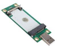 Wholesale SMAKN Mini PCI E Wireless WWAN to USB Adapter Card with SIM Card Slot Module Testing