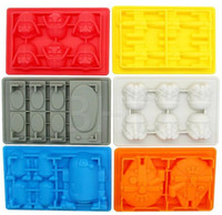 baking toys - Baking Moulds Avengers Star Wars Kids Toys Star Wars Sets Of Silicone Mold Ice Lattice Mold Chocolate Mould Cake Decorating Tools