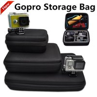 Wholesale Gopro Bag Small Middle Large Size Travel Storage collection bag Storage Box For GoPro Hero Hero Hero SJ4000 Xiaomi Yi