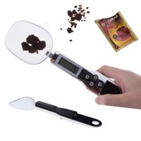 Wholesale Kitchen Digital Spoon Scale g g Balance Electronic Food Scales Flour Weight Kitchen Measure Spoon order lt no track