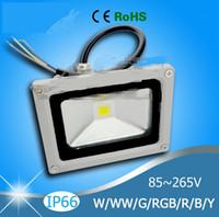 Wholesale Waterproof W W W W W W Outdoor LED Flood Light Floodlight Warm Cool White RGB LED Outdoor Lighting Lamp