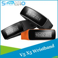 Wholesale Smart Bracelet v5 V5Pro UWatch Bluetooth intelligent Fitness Tracker Healthy wristband Android Watch For Android Phone Samsung Phones