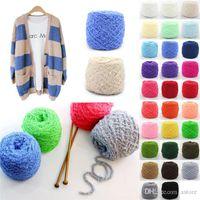 Wholesale Hot Sales Clothing Fabric Knitting Wool Yarn Balls Soft Cashmere Crochet Skein Woven Short plush Weight g CX47