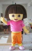 Wholesale Hot Fashion High Quality explore D Dora mascot costume Hamsters mascots Adult size frozen Cartoon Character costume