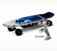 ABS four wheel electric scooter - Leisure remote control electric skateboards three speeds four wheel skateboard scooter electric scooter ABS brakin600D K