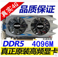 Wholesale New GTX G MB Video Card Bit DDR5 Directx Graphic Card for Games VGA DVI HDMI PK ti gtx650