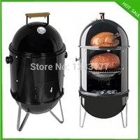 barbecue grill smoker - BBQ Barbecue meat grill Charcoal Smoker BBQ Grill