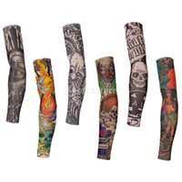 armed dance - New Brand New Temporary Tattoo Arm Covers Sleeves Cool Warmer Fancy Dress Cycling Dance