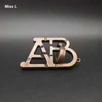 abc ring - Metal Cast ABC Ring Puzzle Alloy Gadget D Puzzle Toys Suitable For Young And Old