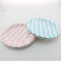 baby shower plates - 1200pcs Round Colorful Polka Dots Paper Plates for Birthday Party Wedding Party Baby Shower