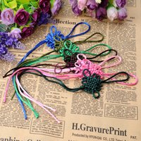 Wholesale Stalls selling line six knots Chinese knot auto accessories accessories High end DIY accessories The colorful Chinese wind pic