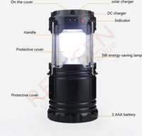 Wholesale Portable Solar Power Outdoor Camping Led Hiking Lanterns Camping Lantern Light LED Lantern Outdoor Tent Portable Emergency Lamp With camp