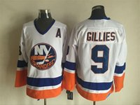 arrival new york - New Arrivals Clark Gillies New York Islanders Ice Hockey Jersey Stitched Jerseys White Mix Order Accept