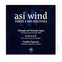 Big Kids asi video - Three Card Routines Asi Wind Only The magic teaching Video send via email Stage magic