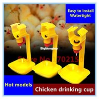 Wholesale 1509 Hot models Drinking cups chicken hanging Pheasant water bowl Nipple drinkers Chicken farming equipment FarmTools