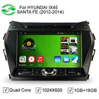 hyundai ix45 - TOP HD quot Screen Pixels Auto Android Car PC For Hyundai IX45 Santa Fe Quad Core CPU DVD GPS DVR G WiFi