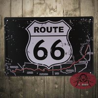antique stores - Route road Metal Decor Wall Art Sports Shop Store Cave Bar D price