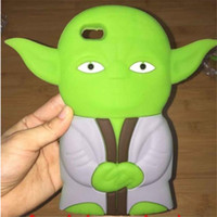mobile phone silicone case - Fashion D Cartoon Star Wars Lovely Soft Silicone Cell Phone Cases For Iphone5 plus Cute Mobile Phone Covers