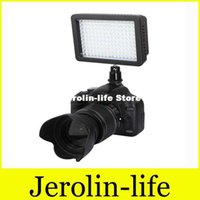 Wholesale WanSen WSLED126 K LED Video Camera Light For Nikon Canon D D D Mark III D T5i T4i T3i