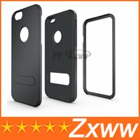 TPU other sgp stand - 2014 New Arrival TPU PC SGP Stand Hybrid Armor Case For Iphone Iphone6 Case Protective Cover for Apple In Stock HZ