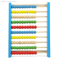 abacus uk - FJS UK CUTE Childrens Large Wooden Bead Abacus Counting Frame Educational Maths Toy