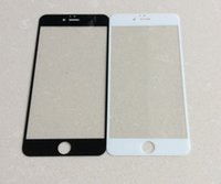 Wholesale For iPhone inch Front Outer Glass Lens Touch Screen Cover for iphone plus inch Repair Parts Black White