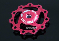 sram red - AEST Aluminium AL7075 CNC Machined t Jockey Wheels Rear Derailleur Pulley For SHIMANO For SRAM T Red